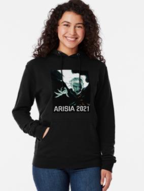 Arisia 2021 hoodie