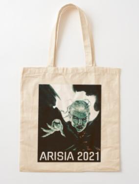 Arisia 2021 tote bag